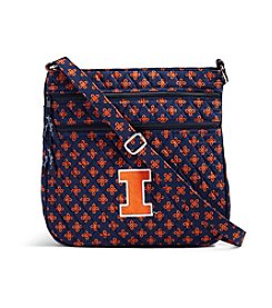 Vera Bradley® NCAA® Fighting Illini Triple Zip Hipster