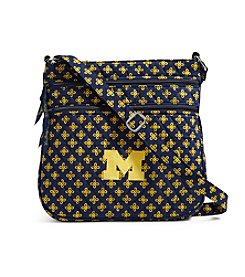 Vera Bradley® NCAA® Michigan Wolverines Triple Zip Hipster