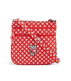 Vera Bradley® NCAA® Wisconsin Badgers Triple Zip Hipster