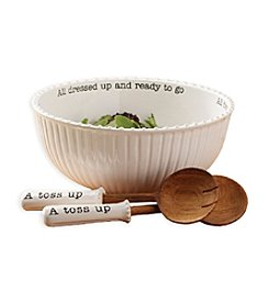 Mud Pie® Circa Salad Bowl