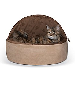 K&H Pet Products Self-Warming Kitty Bed Hooded