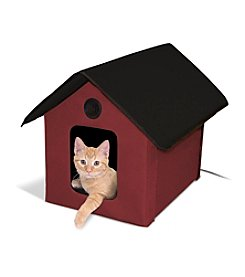 K&H Pet Products Outdoor Heated Kitty House Barn