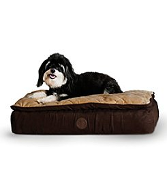 K&H Pet Products Feather-Top Ortho Bed Chocolate