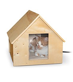 K&H Pet Products Birchwood Manor Thermo-Kitty™ Heated Home