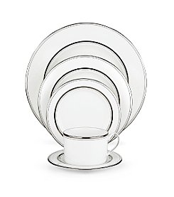 kate spade new york® Library Lane Platinum 5-piece Place Setting