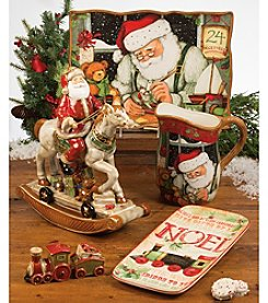 Certified International Santa's Workshop by Susan Winget Dinnerware Collection