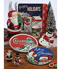Certified International Retro Christmas by Tina Higgins Dinnerware Collection