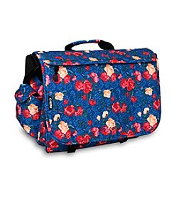 J World® Thomas Vintage Rose Laptop Messenger Bag