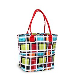 J World® Lola Colorstrip Lunch Tote