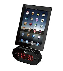 Dok Alarm Clock with Universal Charger Cradle and Audio Port