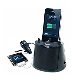 Dok 3-Port Charger with Bluetooth Speaker