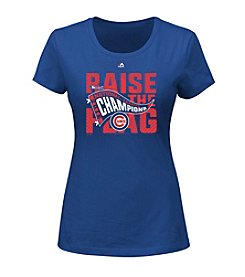 Majestic® MLB® Chicago Cubs Women's League Champions Locker Room Tee