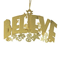 ChemArt Believe Ornament