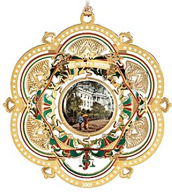 ChemArt White House 2005 Ornament