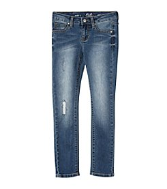 Earl Jean® Girls' 7-16 Rip and Repair Skinny Jean