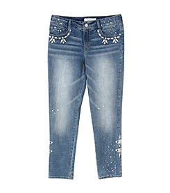 Jessica Simpson Girls' 7-16 Slim Boyfriend Jeans