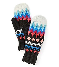 Isotoner Signature® Chevron Fair Isle Gloves