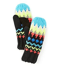 Isotoner® Signature Chevron Fair Isle Gloves