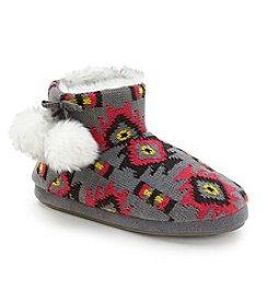 Cuddl Duds® Knit Bootie Slippers