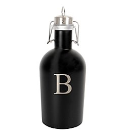 Cathy's Concepts Personalized 64 oz. Black Stainless Steel Growler