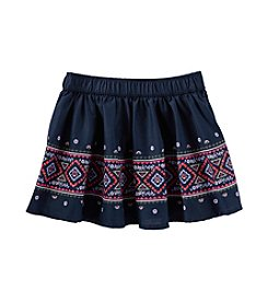 OshKosh B'Gosh® Girls' 2T-8 Geometric Woven Skirt