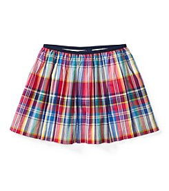 Polo Ralph Lauren® Girls' 7-16 Plaid Skirt