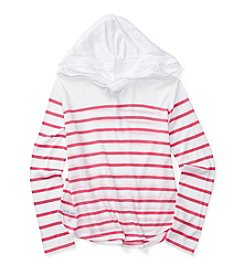 Polo Ralph Lauren® Girls' 7-16 Striped Hoodie