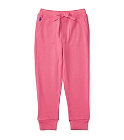 Polo Ralph Lauren® Girls' 2T-6X Slim Polo Joggers
