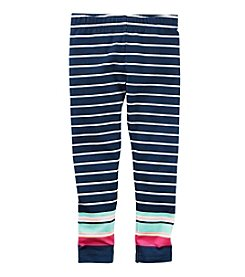Carter's® Girls' 2T-8 Striped Leggings
