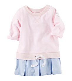 Carter's® Girls' 2T-8 French Terry Top
