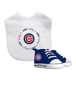 Baby Fanatic MLB® Chicago Cubs Baby Bib And Bootie Set