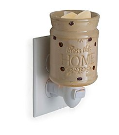 Candle Warmers Etc. Bless This Home Pluggable Fragrance Warmer