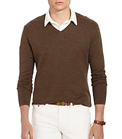Polo Ralph Lauren® Men's Herringbone Pima Sweater