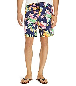 Polo Ralph Lauren® Men's White Cap Shorts