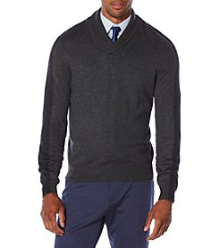 Perry Ellis® Men's Shawl Collar Sweater