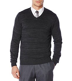 Perry Ellis® Men's Variegated Sweater