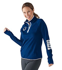 G III NFL® Indianapolis Colts Womens Interval 1/2 Zip Pullover