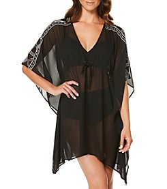 Jantzen® Embroidered Caftan Coverup