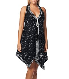Coco Reef® Scarf Dot Dress Coverup