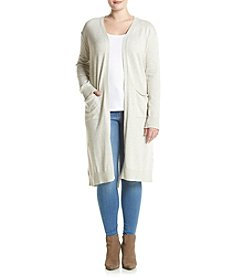 Hippie Laundry Plus Size Sweater Duster