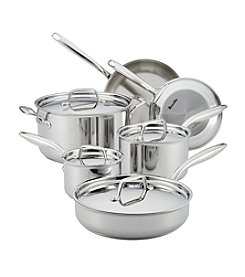 Breville® Thermal Pro™ 10-pc. Clad Stainless Steel Cookware Set