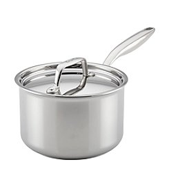 Breville® Thermal Pro™ 3-Qt. Clad Stainless Steel Covered Saucepan