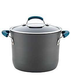 Rachael Ray® 8-qt. Hard-Anodized Aluminum Nonstick Covered Stockpot