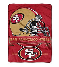 Northwest Company NFL® San Francisco 49ers Prestige Raschel Throw
