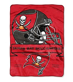 Northwest Company NFL® Tampa Bay Buccaneers Prestige Raschel Throw