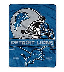 Northwest Company NFL® Detroit Lions Prestige Raschel Throw