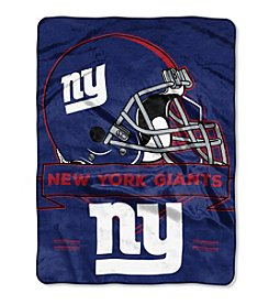 Northwest Copmany NFL® New York Giants Prestige Raschel Throw