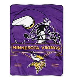 Northwest Company NFL® Minnesota Vikings Prestige Raschel Throw