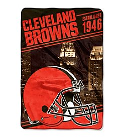 Northwest Company NFL® Cleveland Browns Stagger Micro Oversize Throw