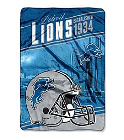 Northwest Company NFL® Detroit Lions Stagger Micro Oversize Throw
